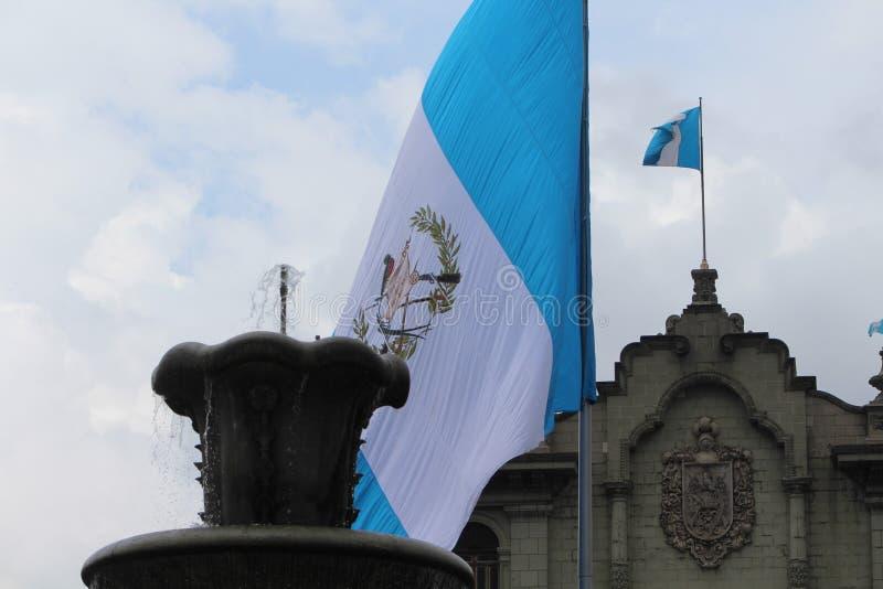 De Stad van Guatemala, Nationaal Paleis royalty-vrije stock afbeeldingen