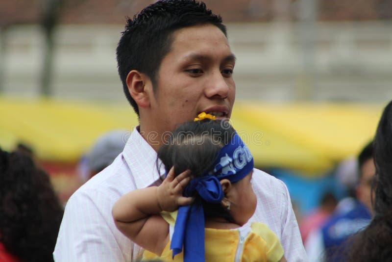 De Stad van Guatemala, Onafhankelijkheidsdag stock afbeeldingen