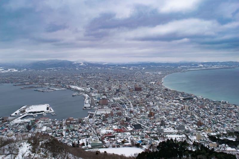 De stad van Hakodate royalty-vrije stock fotografie