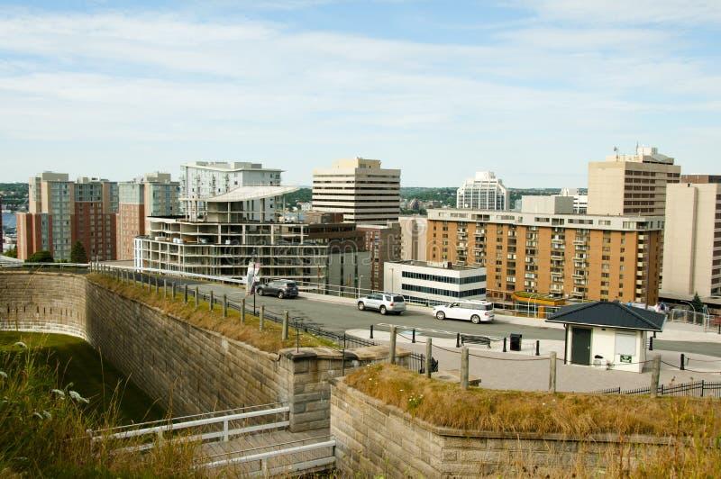 De Stad van Halifax - Nova Scotia - Canada stock foto's