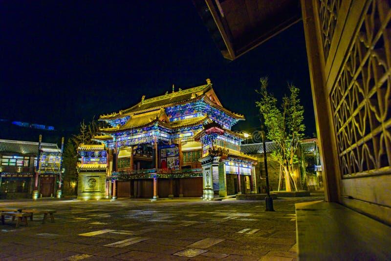 De Stad van het Gubeiwater, Miyun-Provincie, Peking, China stock fotografie