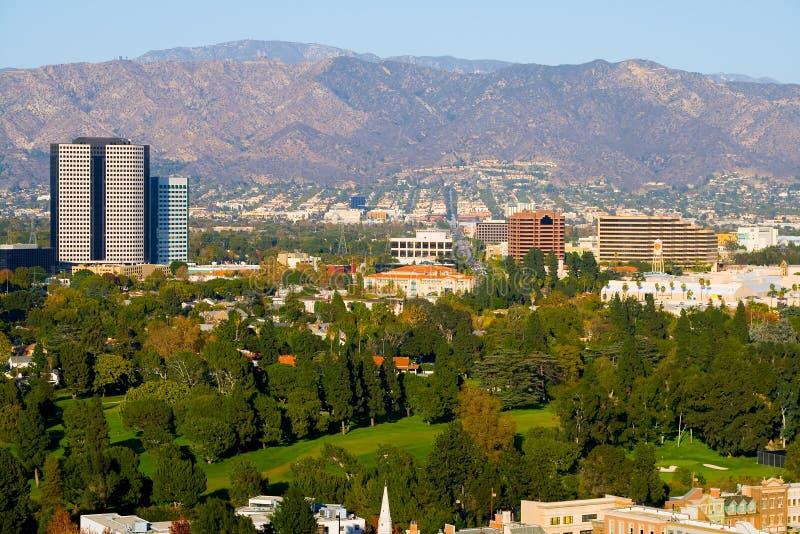 De stad van Hollywood royalty-vrije stock afbeeldingen
