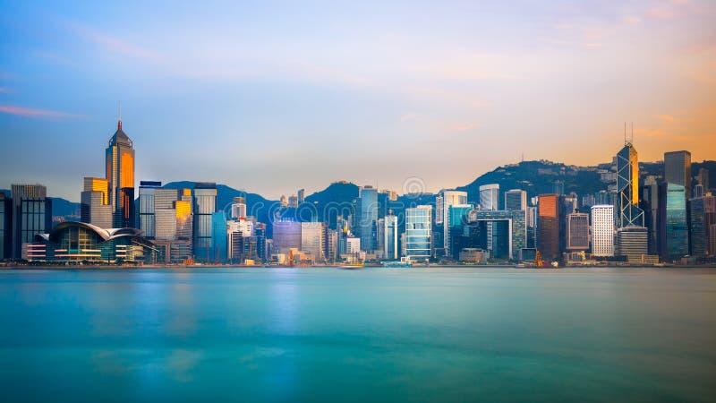 De Stad van Hongkong royalty-vrije stock foto