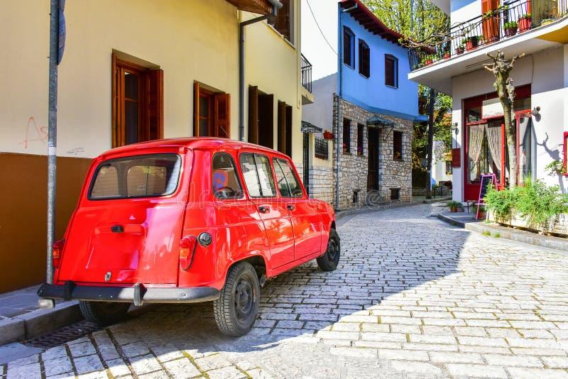 De stad van Ioannina Griekenland in het gebied van Epir Epirus royalty-vrije stock afbeelding