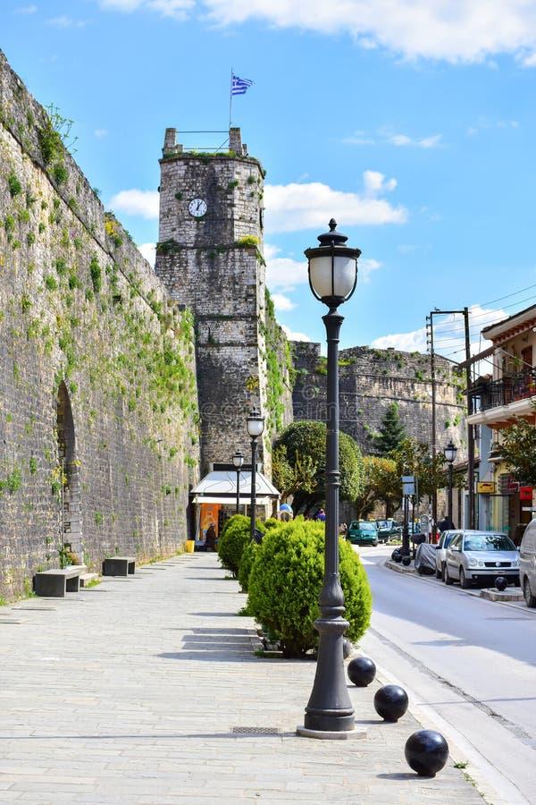 De stad van Ioannina Griekenland in het gebied van Epir Epirus royalty-vrije stock fotografie