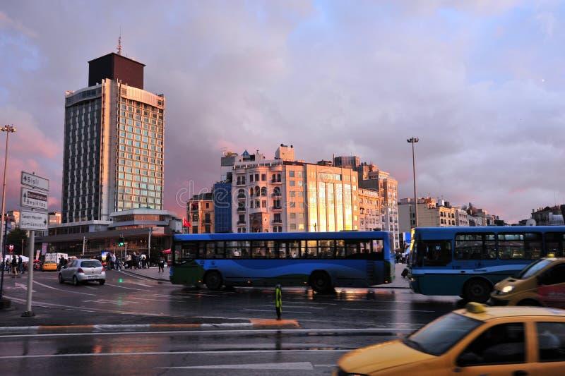 De Stad van Istanboel, Turkije stock afbeelding