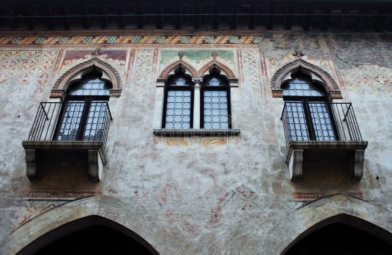 De stad van Italië, Treviso stock afbeeldingen