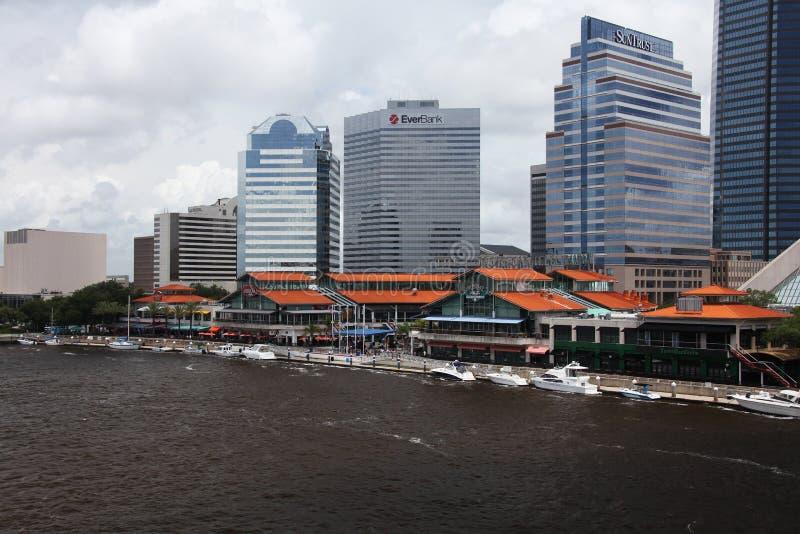 De stad van Jacksonville stock foto's