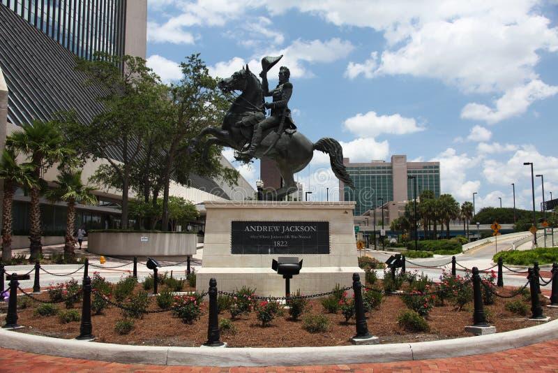 De stad van Jacksonville stock afbeelding