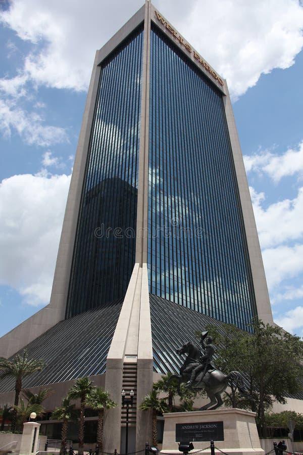 De stad van Jacksonville royalty-vrije stock afbeeldingen