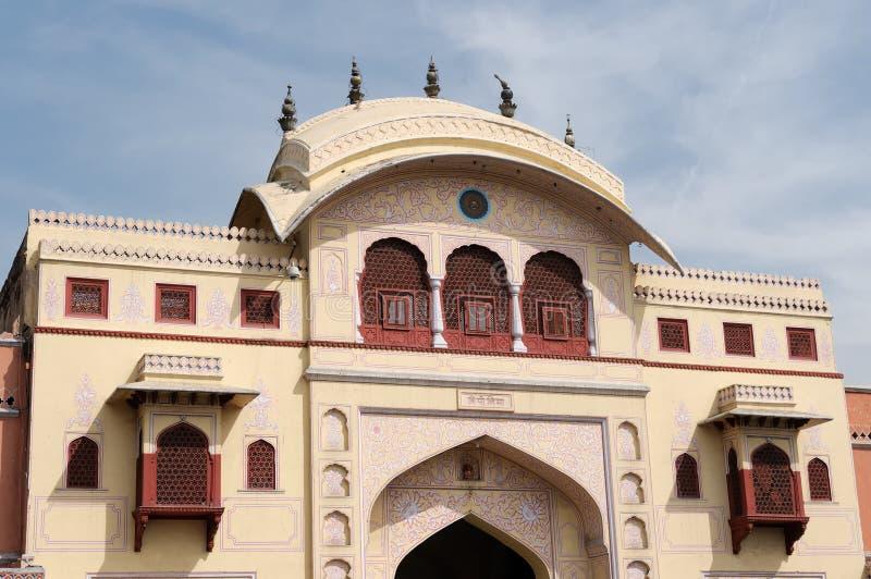 De stad van Jaipur in India stock fotografie