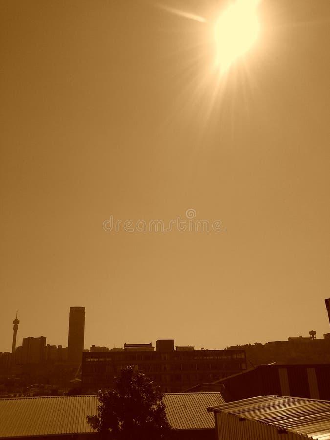 De Stad van Johannesburg royalty-vrije stock foto's