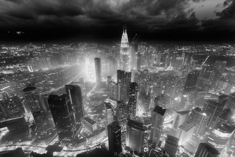 De stad van Kuala Lumpur, Maleisië royalty-vrije stock afbeeldingen