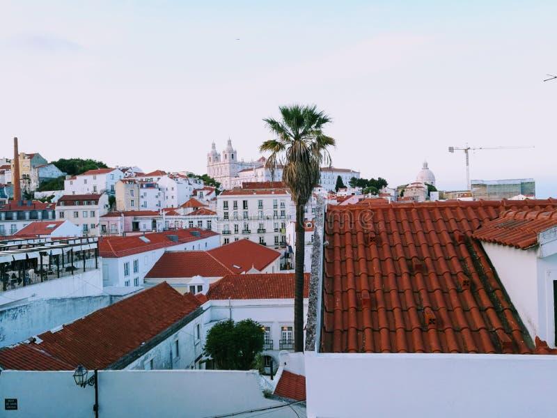 De stad van Lissabon royalty-vrije stock afbeelding