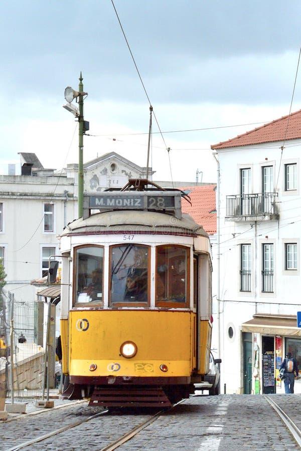 De stad van Lissabon, Europa royalty-vrije stock afbeelding