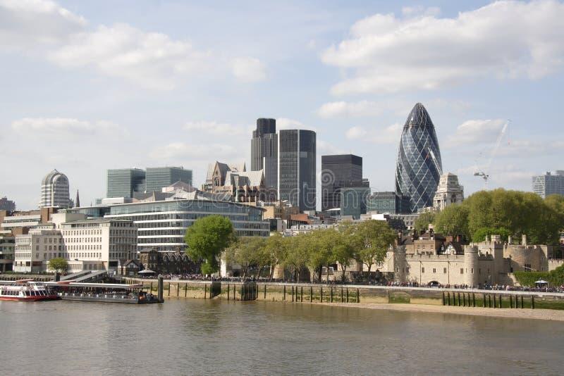 De stad van Londen royalty-vrije stock afbeelding