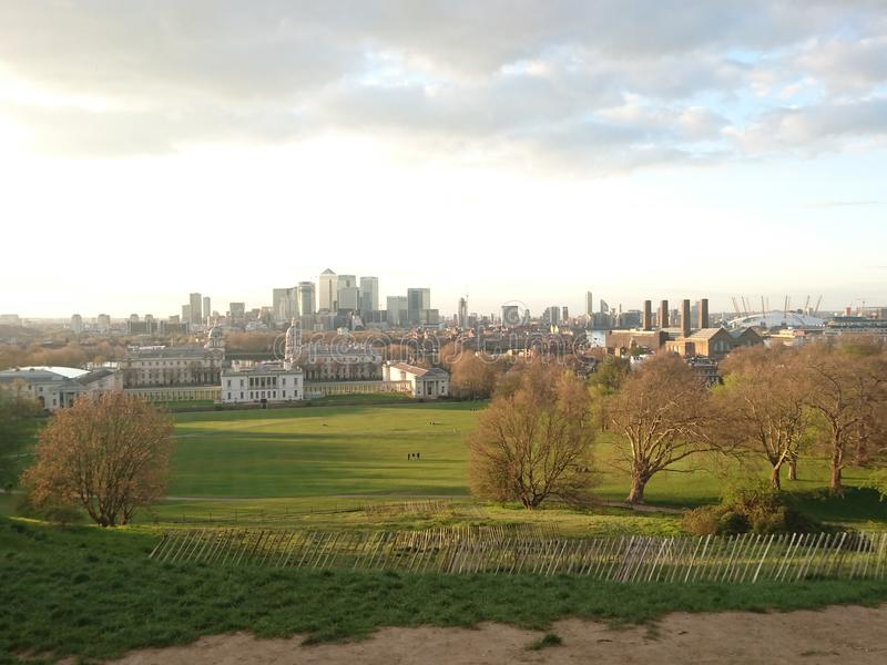 De stad van Londen stock foto