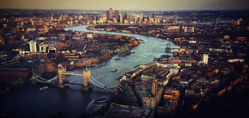 De stad van Londen stock afbeeldingen