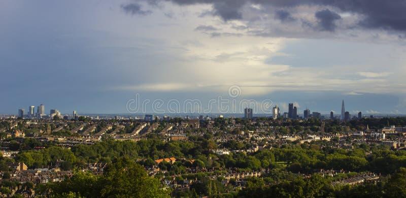 De Stad van Londen cityspace stock afbeeldingen