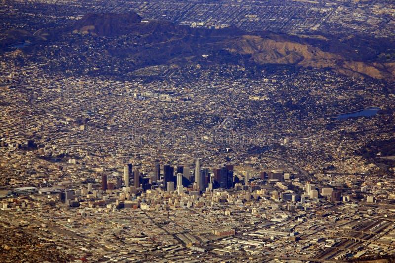De stad van Los Angeles stock foto's