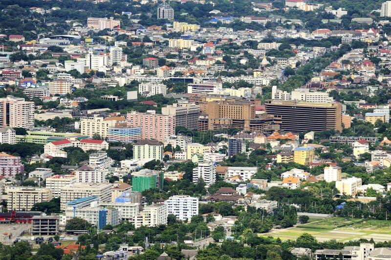 De Stad van MAI van Chiang. royalty-vrije stock foto's