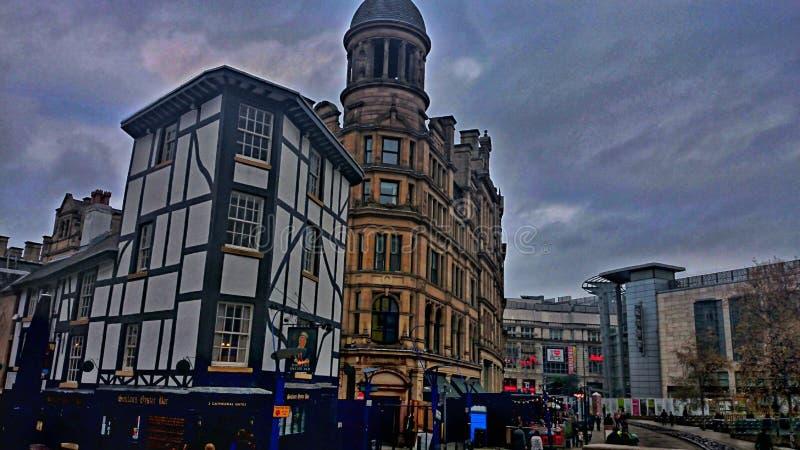 De Stad van Manchester stock foto
