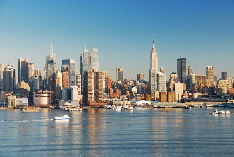 De Stad van Manhattan, New York stock fotografie