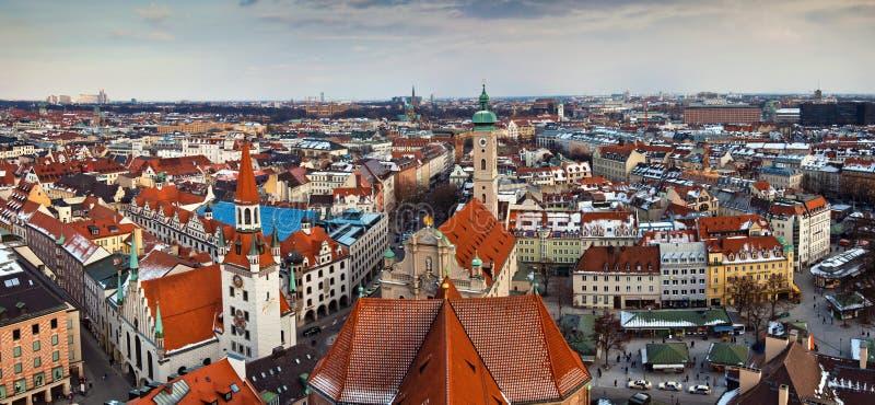 De stad van Munchen, Duitsland stock foto