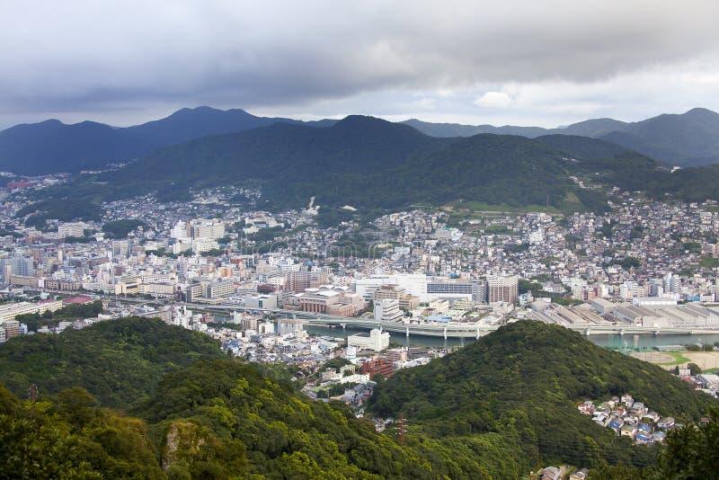 De Stad van Nagasaki, Japan royalty-vrije stock foto