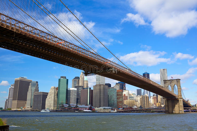 De Stad van New York stock foto