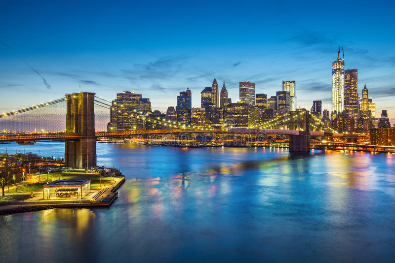 De Stad van New York royalty-vrije stock afbeeldingen