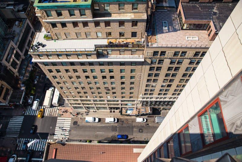 De Stad van New York de Bouwrichel royalty-vrije stock fotografie