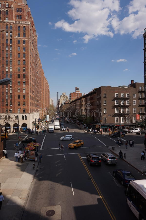 De Stad van New York, ERE royalty-vrije stock afbeelding