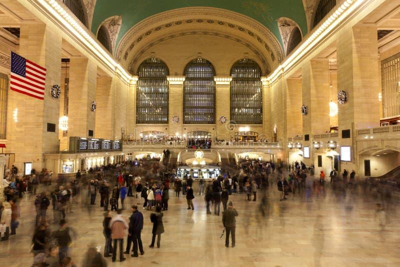 De Stad van New York, Grote centrale Terminal, Manhattan stock afbeelding