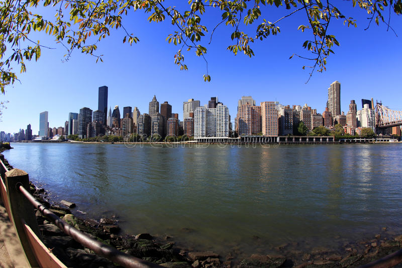 De Stad van New York - Manhattan stock foto