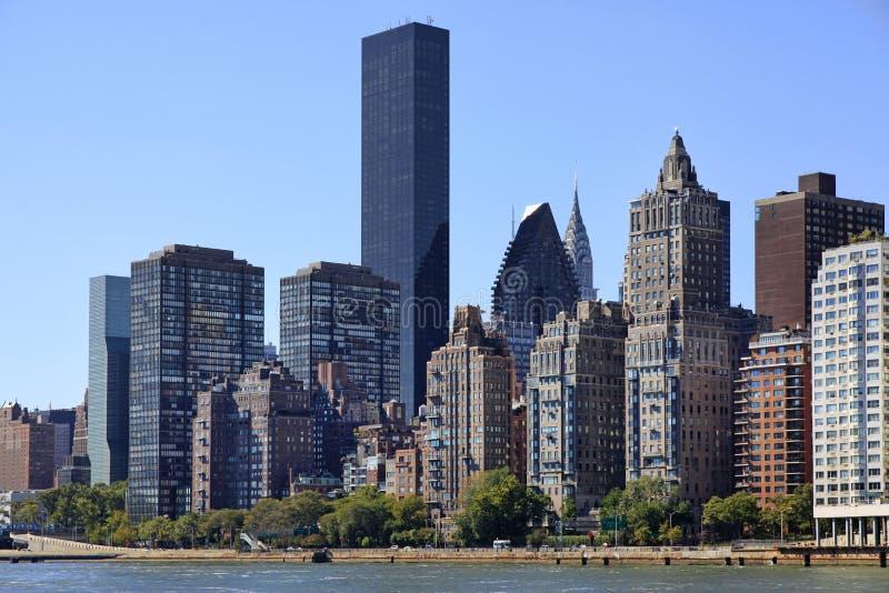 De Stad van New York - Manhattan royalty-vrije stock afbeelding