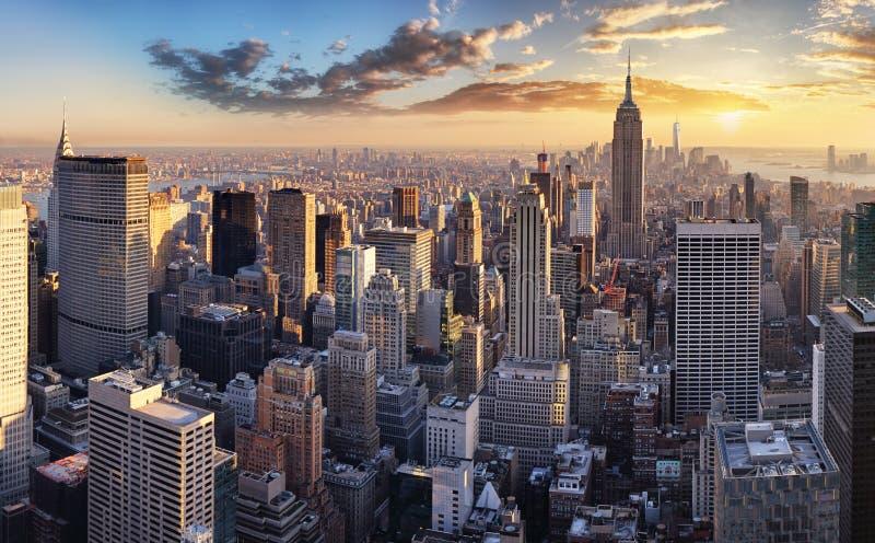 De Stad van New York, NYC, de V.S. royalty-vrije stock fotografie