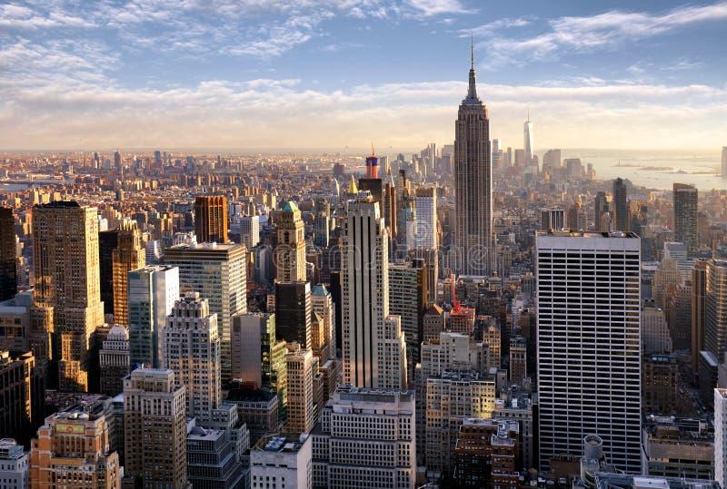 De Stad van New York, NYC, de V.S. stock afbeelding