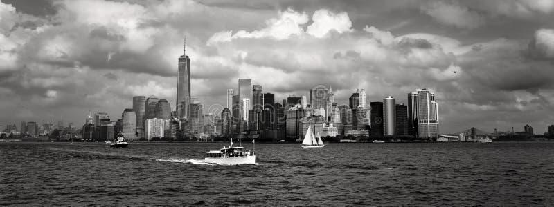 De Stad van New York van de binnenstad stock foto's