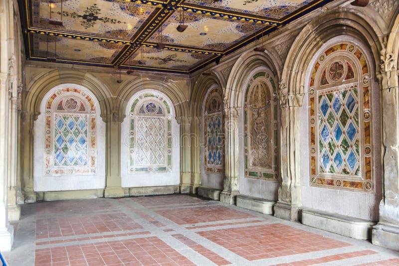 De stad van New York van het Central Park van de Wandelgalerij stock foto's