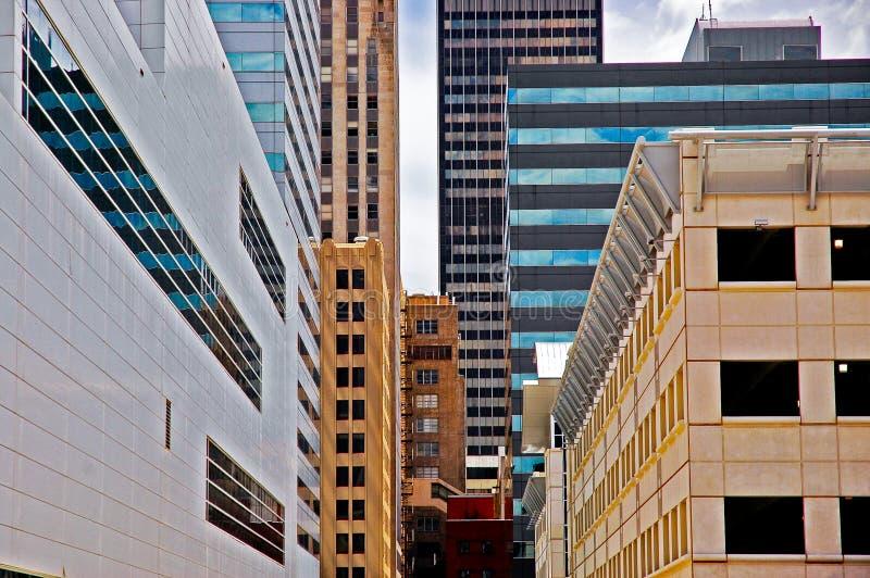 De stad van Oklahoma van de binnenstad royalty-vrije stock fotografie