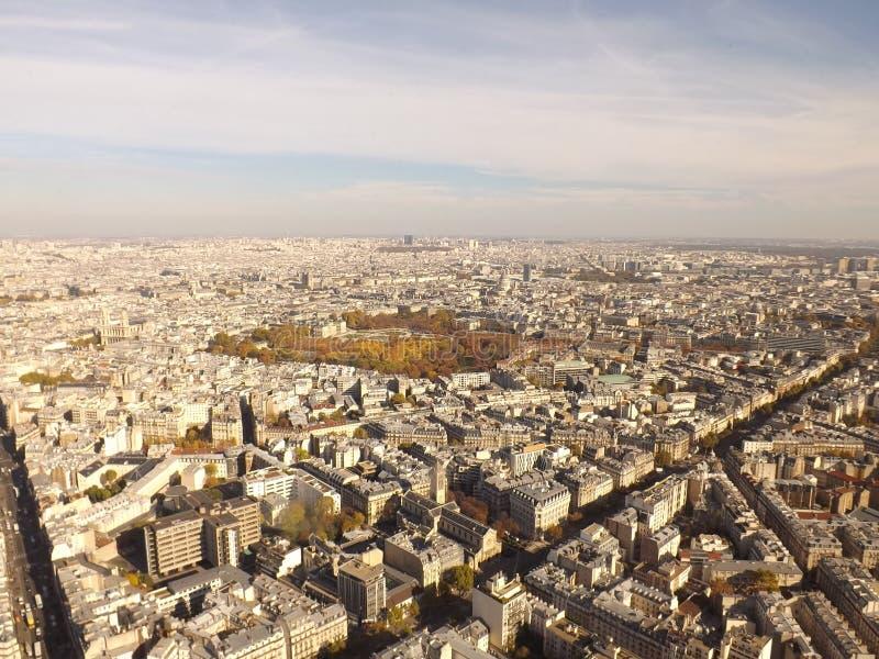 De stad van Parijs stock foto