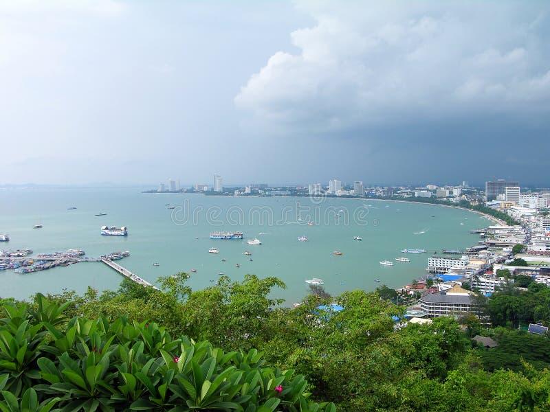 De stad van Pattaya, Thailand royalty-vrije stock fotografie