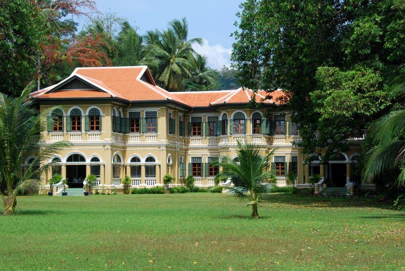 De Stad van Phuket, Thailand: Chinees-Portugees Herenhuis royalty-vrije stock foto's