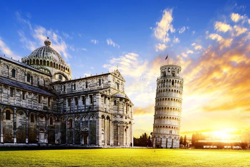 De stad van Pisa royalty-vrije stock foto's