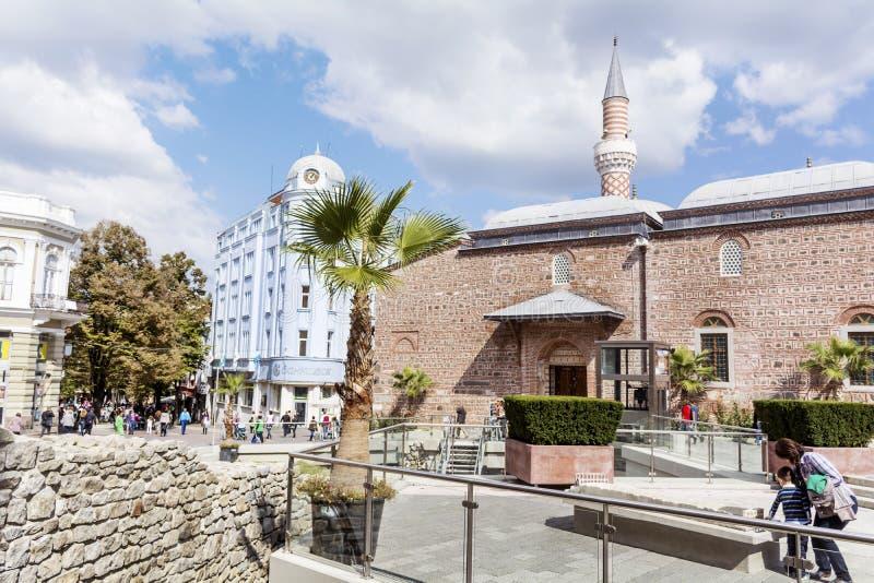 De stad van Plovdiv, Bulgarije royalty-vrije stock foto