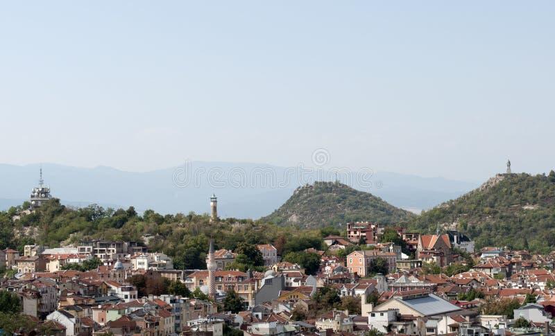 De stad van Plovdiv, Bulgarije stock foto