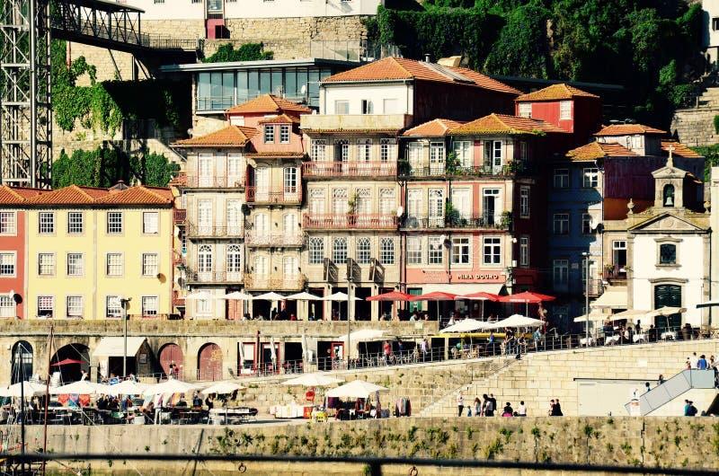 De Stad van Porto van Portugal stock afbeeldingen