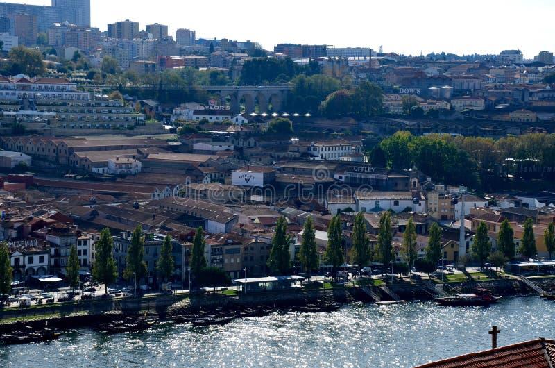 De Stad van Porto van Portugal stock afbeelding