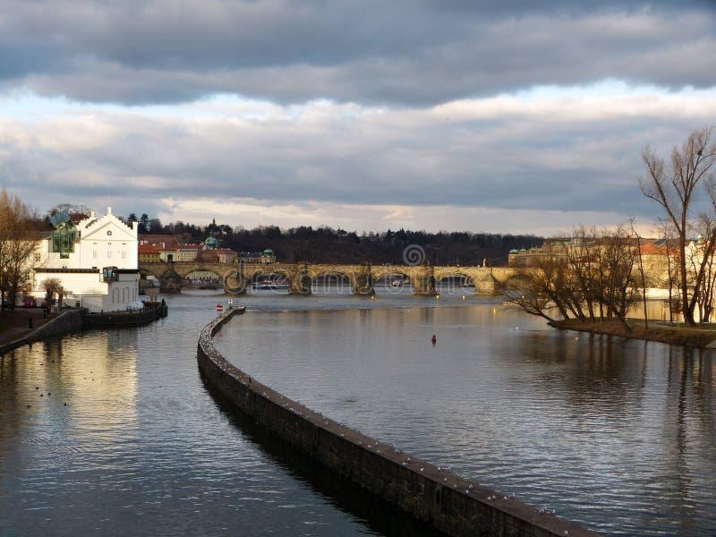 De stad van Praag royalty-vrije stock foto